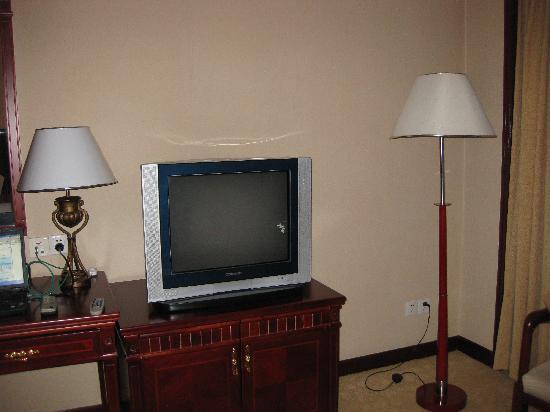 Ningxia International Hotel: 电视机太老太旧了