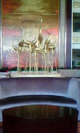 Yancheng Yingbin Hotel: 大堂一角