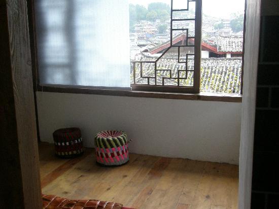 Ruanguixuan Inn : 客房的小阳台