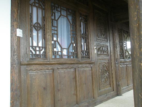 Ruanguixuan Inn : 客栈二楼的走廊