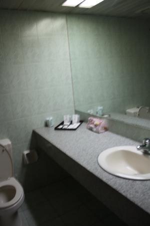 Kai'en Hotel : 入住房间卫生间