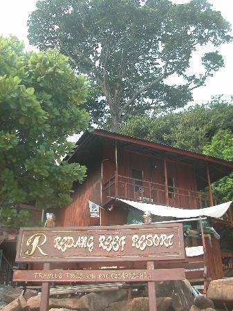 Redang Reef Resort : 酒店外景