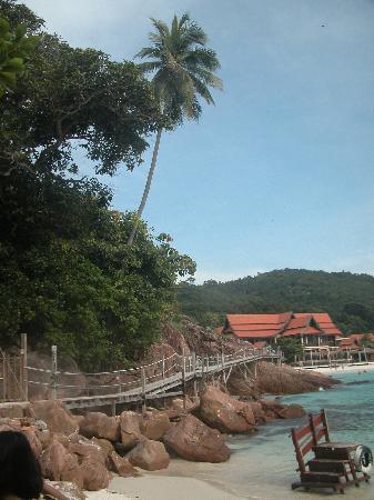 Redang Reef Resort: 酒店边的小桥