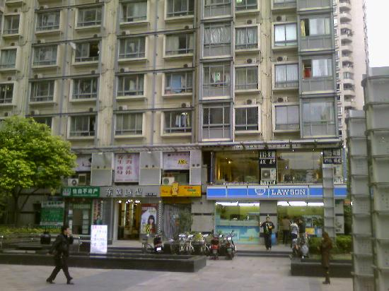 Bihao Self-service Apartment Shengtiandi: 楼下超市