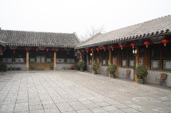 Haoyuan Hotel: 红灯笼装饰的小四合院从容自然