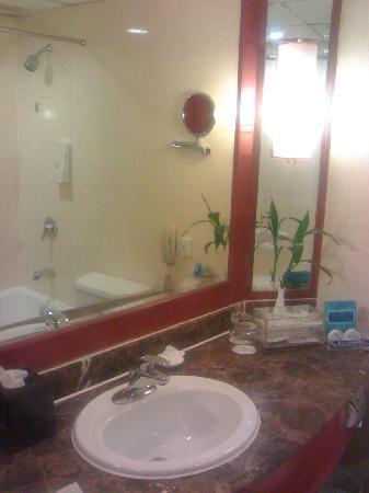 Wu Huan Hotel: 酒店盥洗室