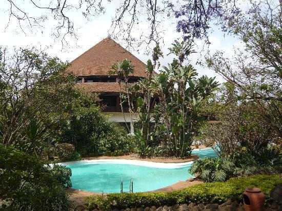 Safari Park Hotel: 带游泳池的客房