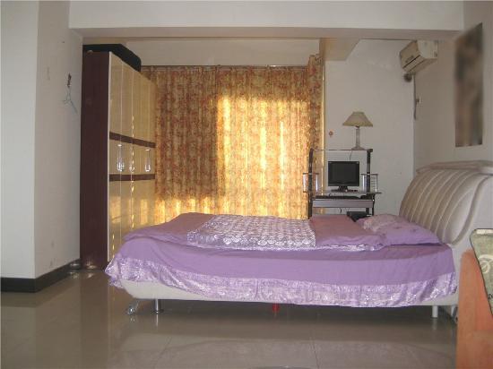 Jinxidi Holiday Serviced Apartment: 床很舒服哦
