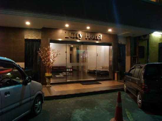 1 City Hotel: 门口