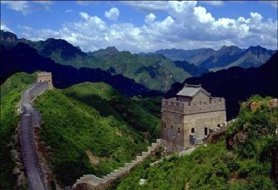 Peking, Kiina: 长城啊