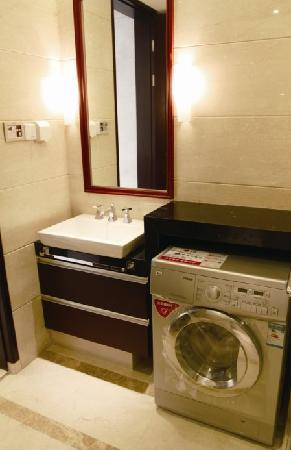 Checkool Service Apartment Hangzhou Xingguang: 卫生间