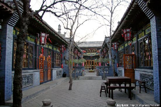 Pingyao Cheng Jia Hotel : 清晨的院落