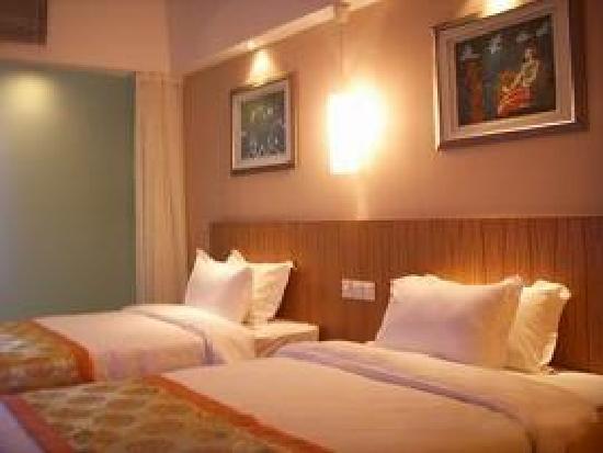 Motel 268 (Shanghai Yushan Road): 可恶的只有双人间了