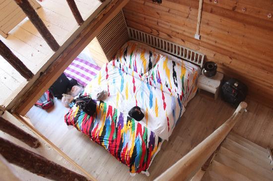 luguhu Wucai Lige Hostel: 一楼大床
