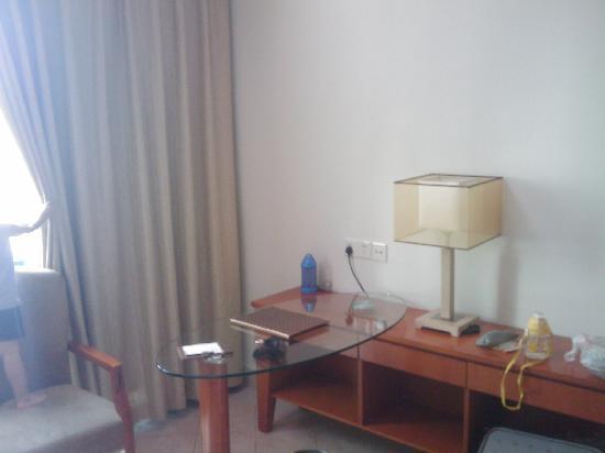 Hongfang Zhongyang Seaview Hotel: 客房一角