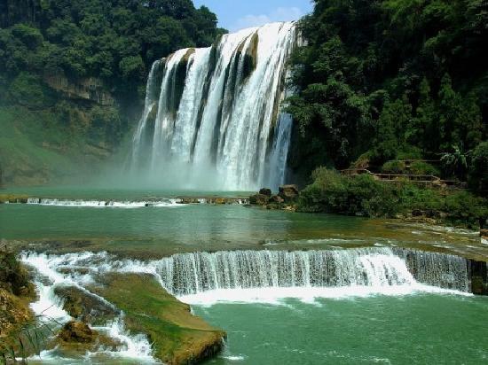 Гуйян, Китай: 黄果树瀑布