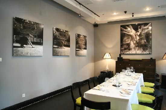 เกรซ เบจิ่ง โฮเต็ล: 餐厅