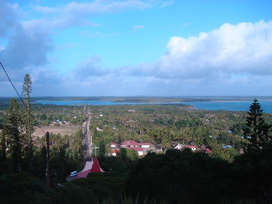 Neukaledonien: 制高点俯瞰小城风景