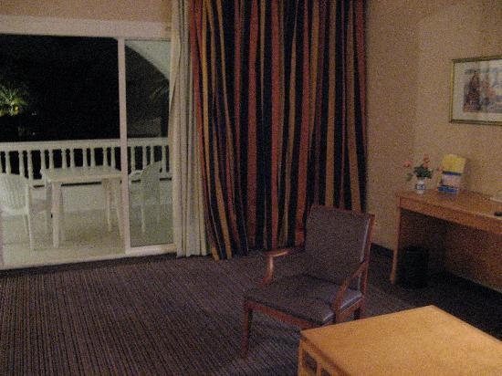 Hotel Palace Oceana Hammamet: 阳台