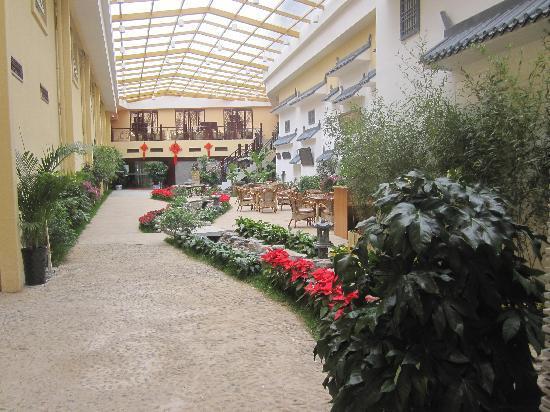 Shengqi Hotel: 园林