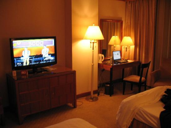 China City Hotel : 40寸大电视