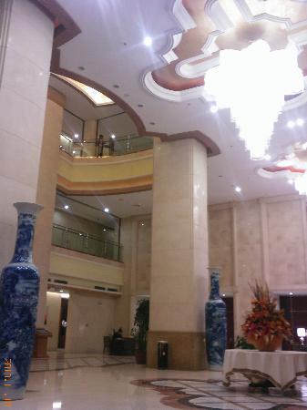 Fortune International Hotel Wu'an: 气派的大堂