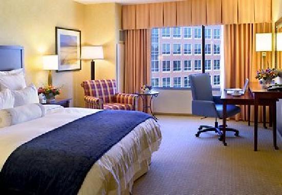 San Diego Marriott Del Mar: 大床房