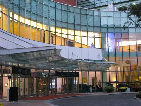 Pullman Ambassador Changwon: 酒店外观很气派