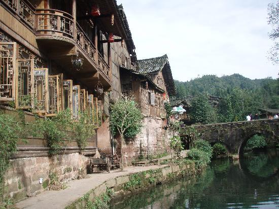 Shangli Ancient Town : 小镇一景