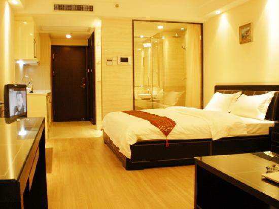She & He Apartment Guangzhou Vili: 豪华大床房