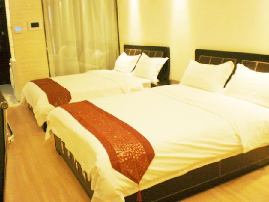 She & He Apartment Guangzhou Vili: 豪华双床房