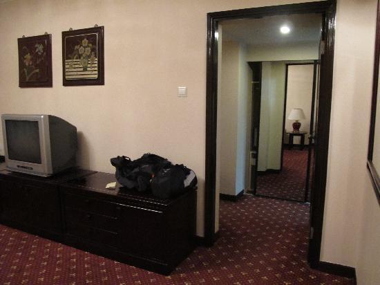 Beijing Yanshan Hotel: 另一个角度通道