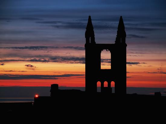 St. Andrews, UK: sun set