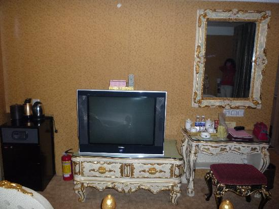 Nanyang King's Gate Hotel : 电视机夠大