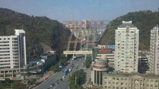 Jinling Jinma Palace Hangzhou: 窗外的风景