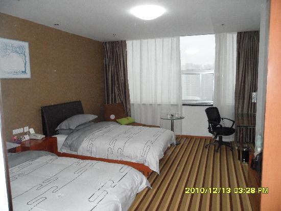 Super 8 Hotel Weifang Sheng Li Lu Hong Ye: 床很舒适