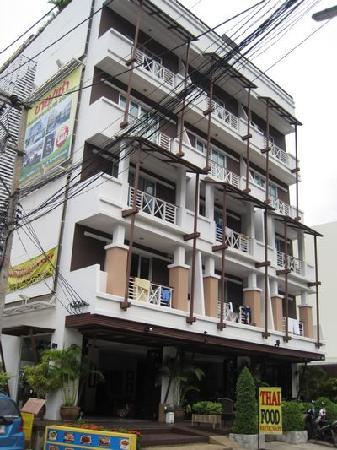 Aloha Residence Hotel: 酒店大楼外观