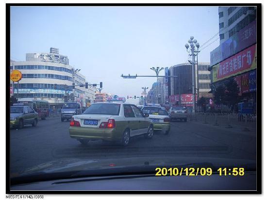Anda, Trung Quốc: 四道街是商业街,汇集服装家电,手机等