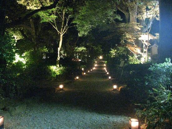 Hadano, Japón: 进去的小路