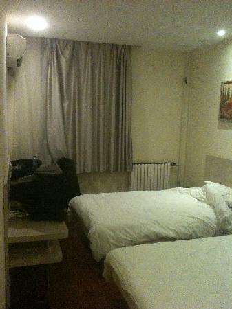 房间很干净(在适用前)