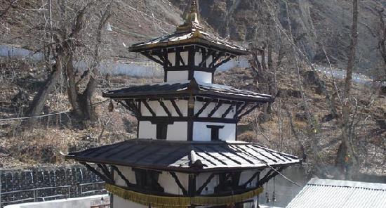 Mustang Region, Nepal: 尼泊尔-muktinath temple (chumig gyatsa)