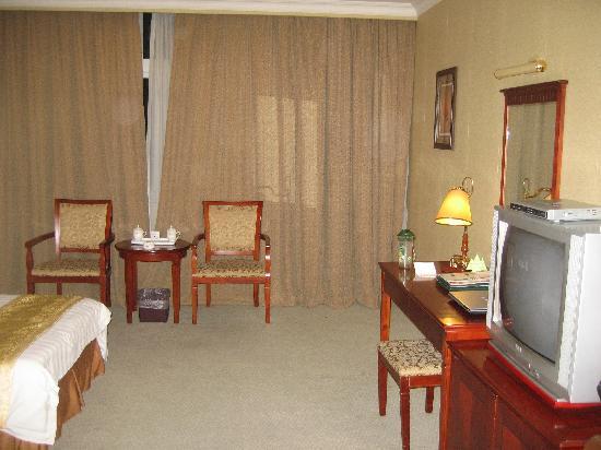 Yu Shan Hotel: 显的很宽敞的房间(1)