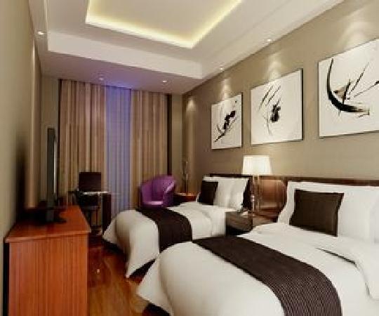 Jiaxin Express Hotel Beijing Happy Valley: 豪华双人房环境典雅、高贵、气派、设计风格独特、旅行外出客人的首选