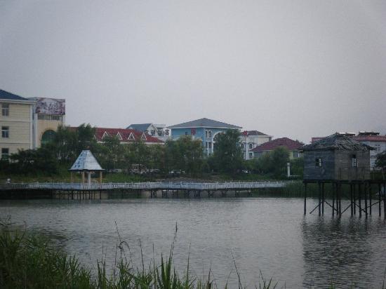 Rizhao, China: 森林公园里的宾馆