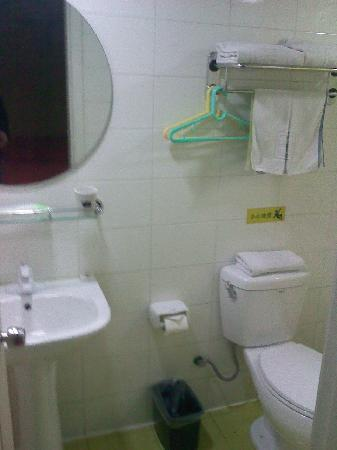 Home Inn Shanghai North Bund Zhoujiazui Road: 卫生间