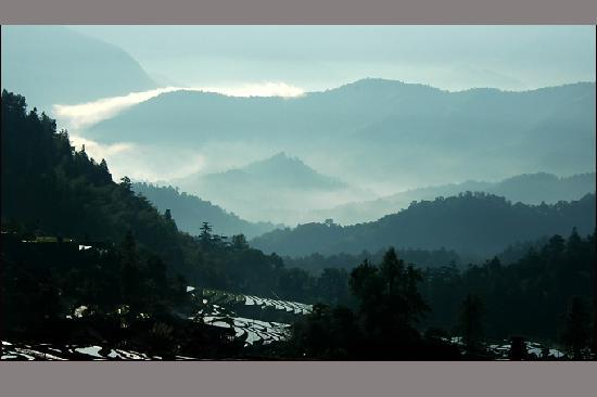 Suining County, China: 绥宁的群山