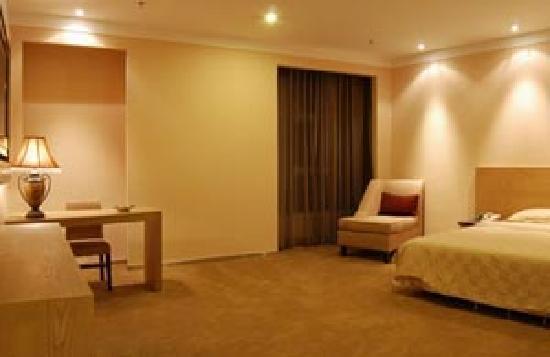Hong Fu Hotel : 房间里面的设置,不同的房型和楼层有所不同