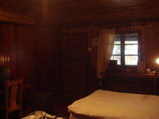 Gongxiao Gucheng Hostel: 房间有点暗,效果不太好