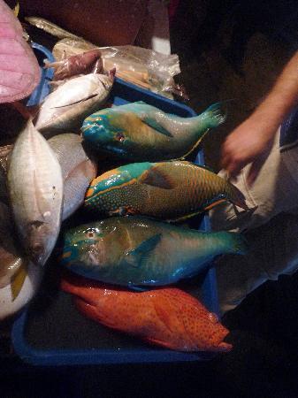 Kota Kinabalu, Malaisie : 菲律宾夜市的烧烤