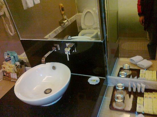 Elegance Hotel: 洗漱间